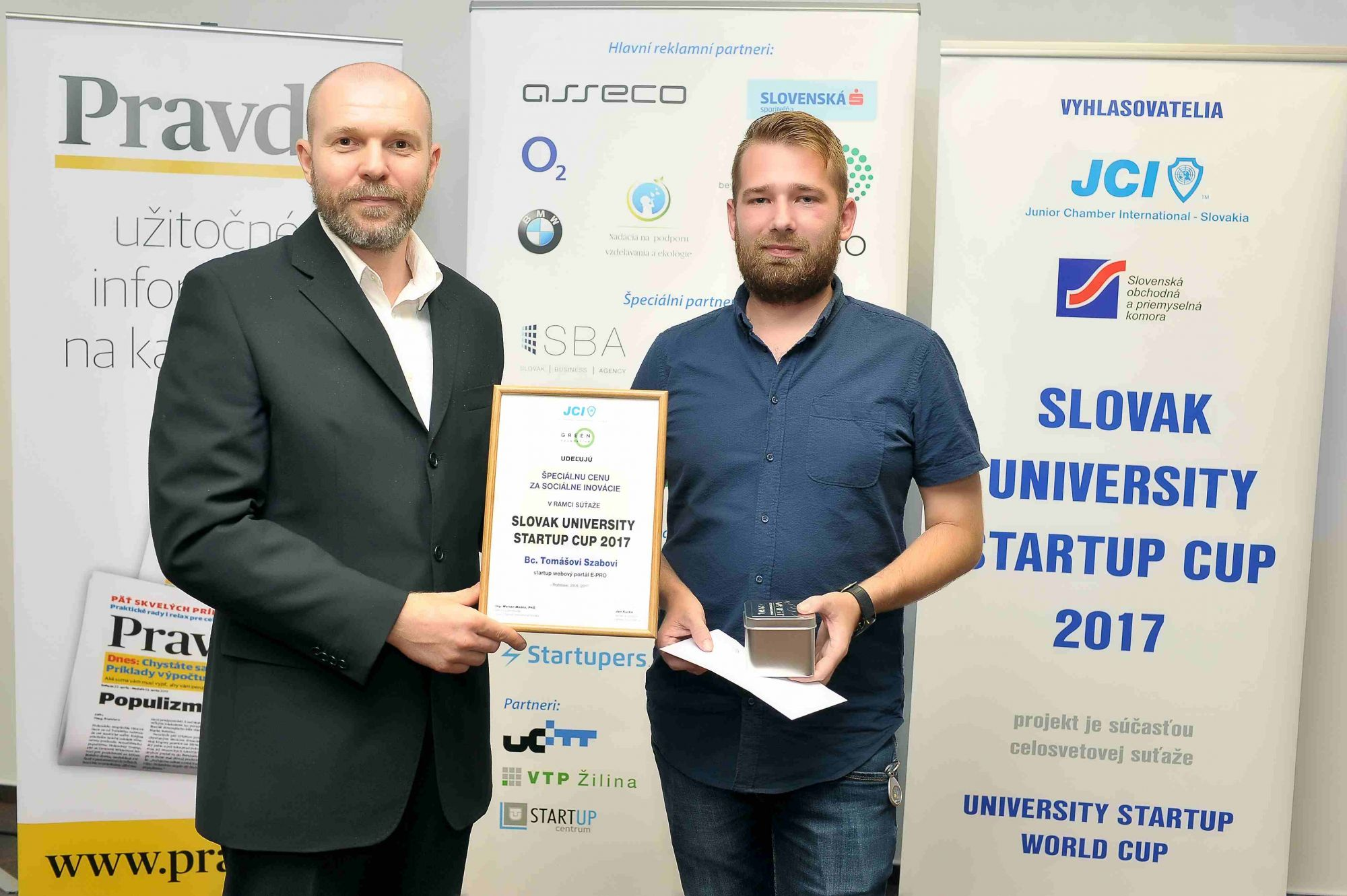 Študent STU získal cenu za start-up