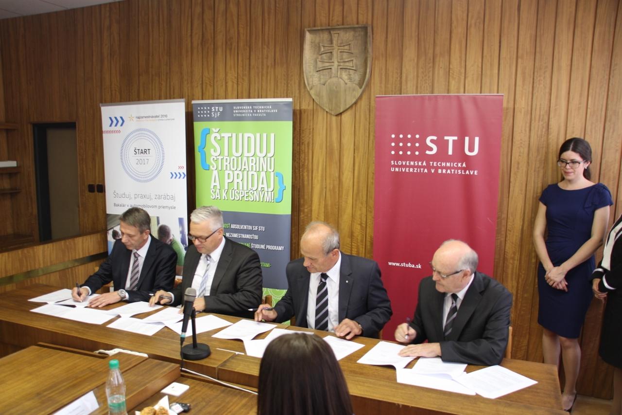 STU a VW SK spúšťajú prvé duálne vysokoškolské štúdium
