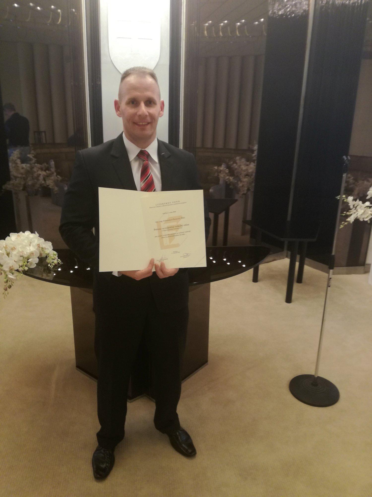 Ocenenie docenta Ľubomíra Švorca a docenta Michala Kvasnicu