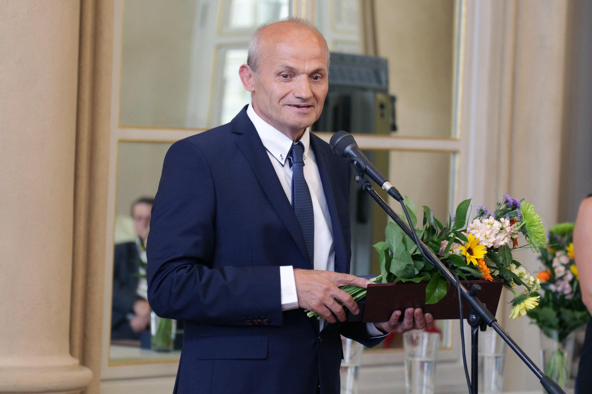 Vedec roka SR: ocenenie v kategórii Inovátor roka získal profesor Šooš