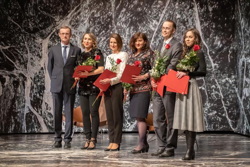 Rektor STU Miroslav Fikar udelil ocenenia pri príležitosti Dňa učiteľov