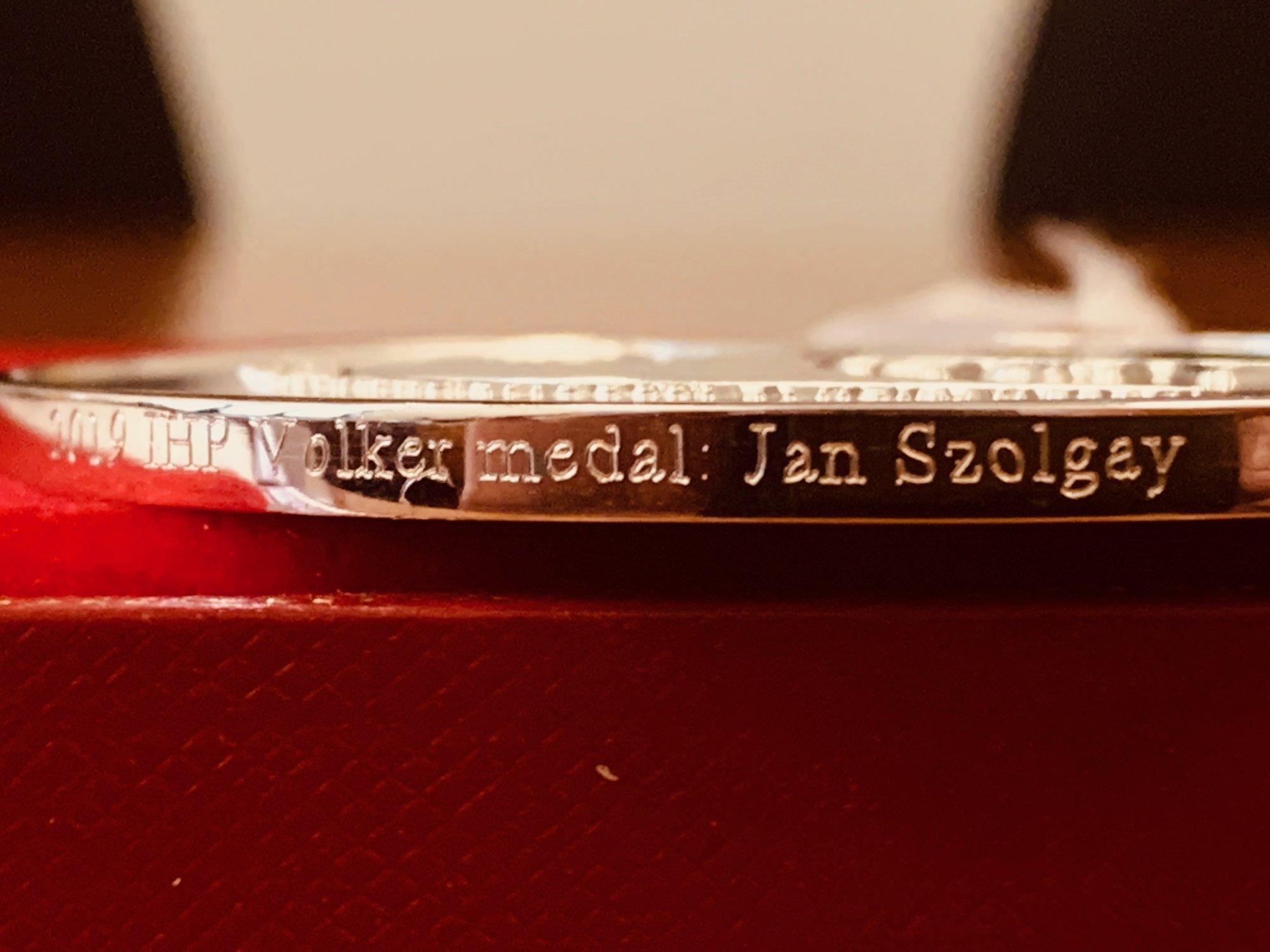 volkerova medaila