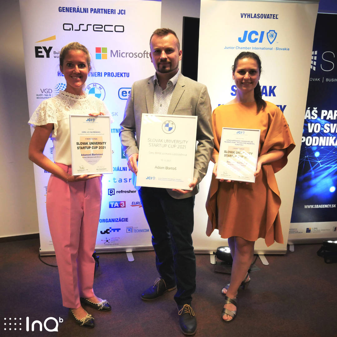 Študenti STU získali ocenenia v startup súťaži