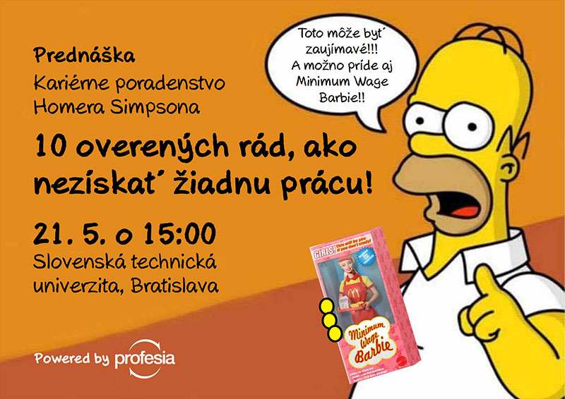Kariérne poradenstvo Homera Simpsona