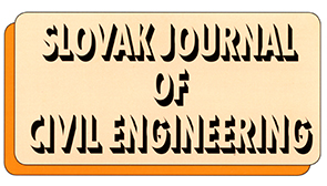 Logo časopisu Slovak journal of civil engineering