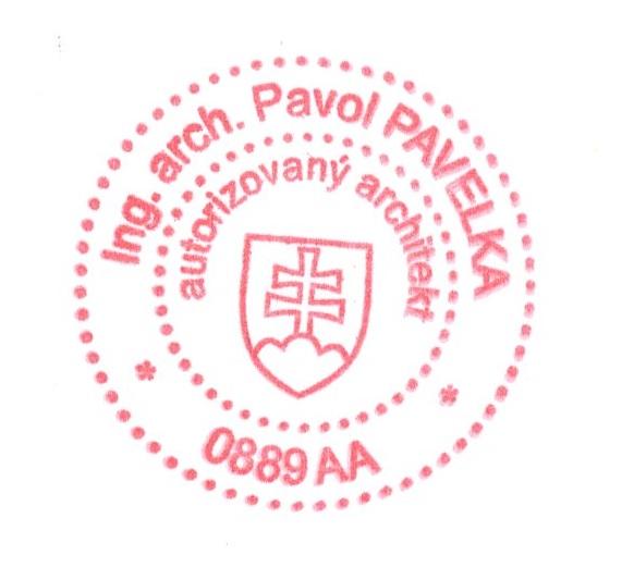Architektonický atelier - Ing. arch. Pavol Pavelka