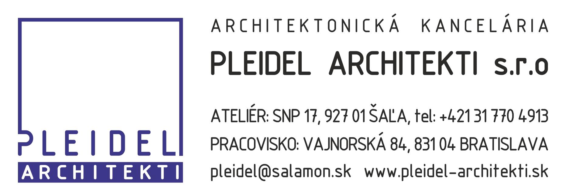 PLEIDEL ARCHITEKTI s.r.o