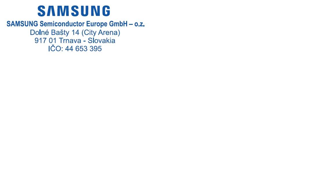 Samsung Semiconductor Europe GmbH