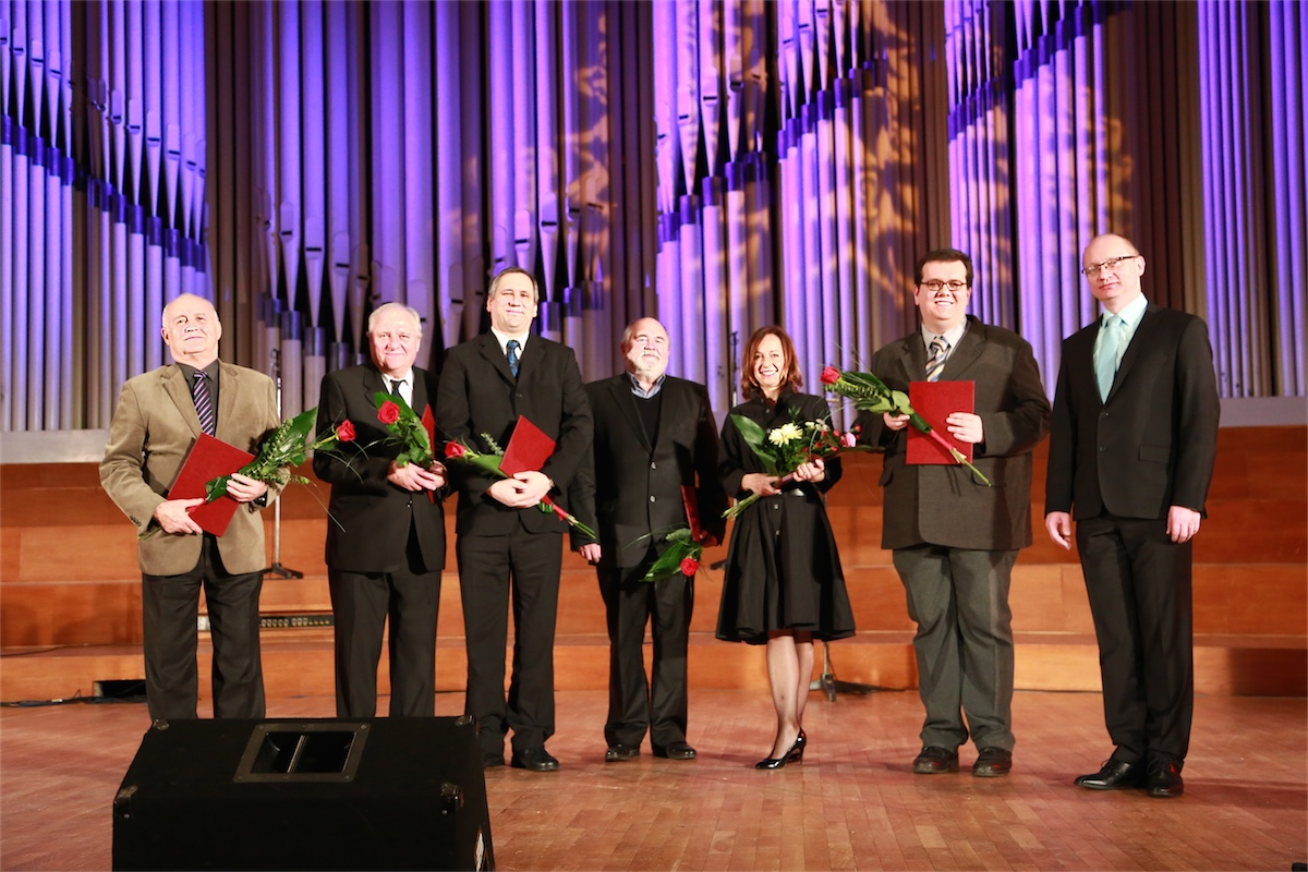 Profesori a vedci roka 2014