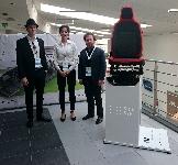 Ďalší členovia tímu: zľava: Michael Paštéka, Júlia Francová, Martin Baláž