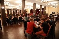 Mladá garada - jedáleň a spoločenská miestnosť dnes, po rekonštrukcii