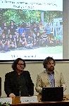 Vedci Milan Kováč z UK a Tibor Lieskovský z STU